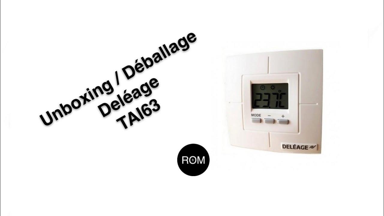 Avis Chauffage Au Sol Electrique thermostat tai63 - pour plancher chauffant électrique