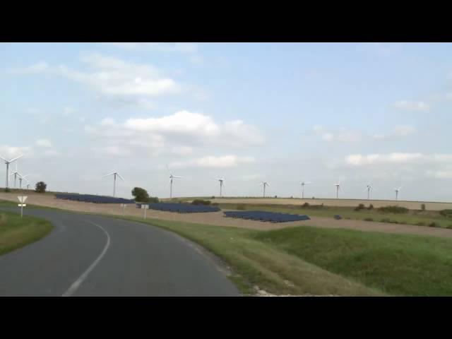 Intégration photovoltaïque éoliennes