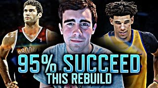 NBA 2K17 MY LEAGUE: 95% OF YOU WILL SUCCEED THIS REBUILD!!!
