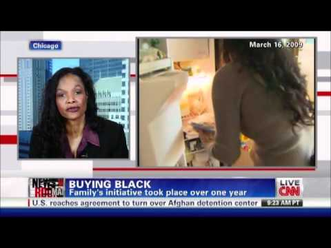 CNN's Suzanne Malveaux Interviews Maggie Anderson, Author of Our Black Year, March 2012