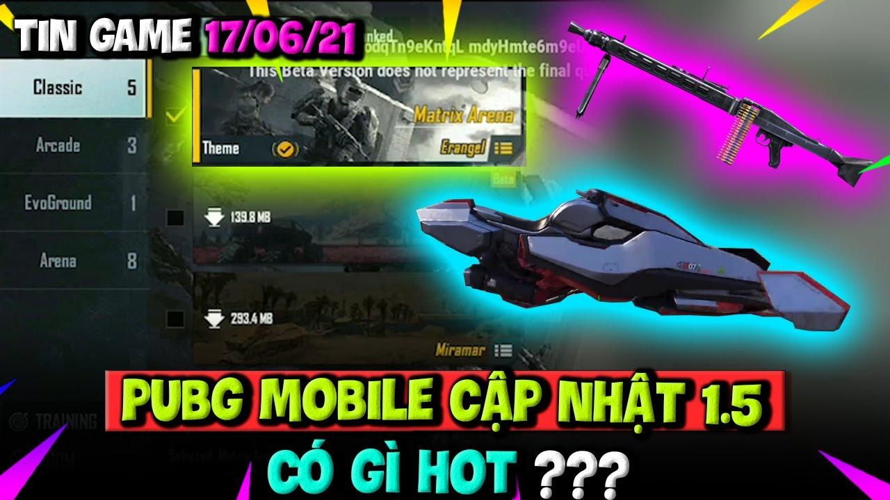 Tin Game 17/06/21: PUBG MOBILE Cập Nhật 1.5 Có Gì Hot? Cực Phẩm Game Đua Xe Forza Horizon 5 Ra Mắt