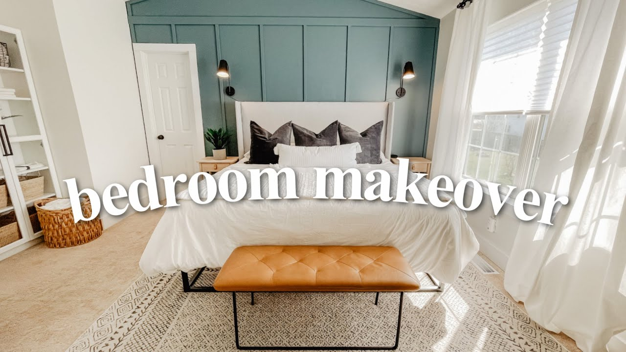 EXTREME BEDROOM MAKEOVER | Full Bedroom Transformation 2021