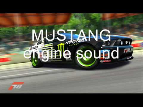 Mustang Engine Sound