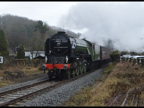 A Storm On The North Yorkshire Moors Railway