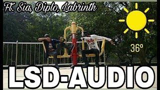 Download Lagu LSD - AUDIO ft. SIA, DIPLO, LABRINTH | DANCE VIDEO | DXTR & LUFFY | DLDANCE Mp3