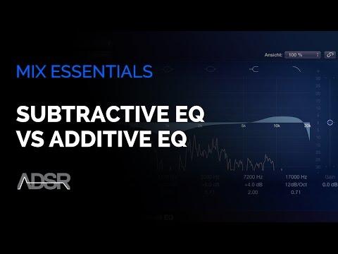 Subtractive EQ Vs Additive EQ