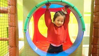 서은이의 플레이타임 키즈카페 체험 놀기 미끄럼틀 정글집 카트 마트 주방놀이 Playtime Indoor Playground