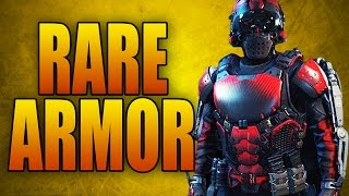 "Super Rare ""Bloodshed Armor"" in Advanced Warfare! 25-0! (Call of Duty AW Secret Loot)"