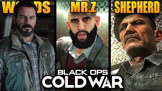 All 12 Returning Characters in Black Ops Cold War (Woods, Zakhaev, Shepherd & More)