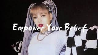 Download lagu [AUDIO] LISA feat. BLACKPINK- Empower Your Belief