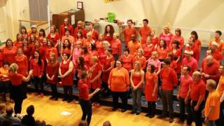 Riff Raff Choir (Bishopston group) - Since You Been Gone - December 2015