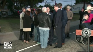 WATCH LIVE: Vice President Pence, Texas Gov. Greg Abbott speak from Sutherland, Texas
