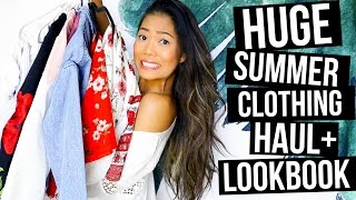 BIGGEST Try-On Clothing Haul + Lookbook 2017 || Shein, Romwe, Makemechic, & Cupshe!