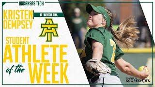 Arkansas Tech Student Athlete of the Week - Kristen Dempsey