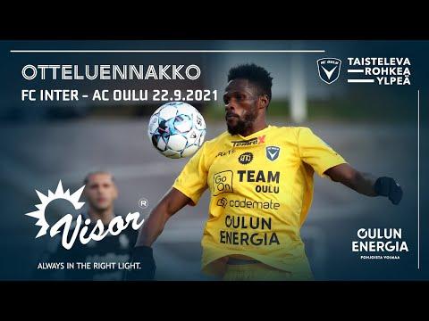 ACOTV: Visor otteluennakko FC Inter - AC Oulu 22.9.2021 (Veikkausliiga)