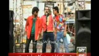 Dhinka Chika (faisal ali khan) Pakistani politics Ary News.mpg