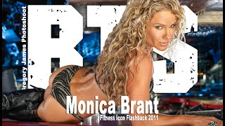 Gregory James BTS Fitness Shoot | Monica Brant Icon Flashback 2011