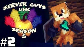 Minecraft: Server Guys UHC Season 5 - Episode 2: The Floor Is Lava
