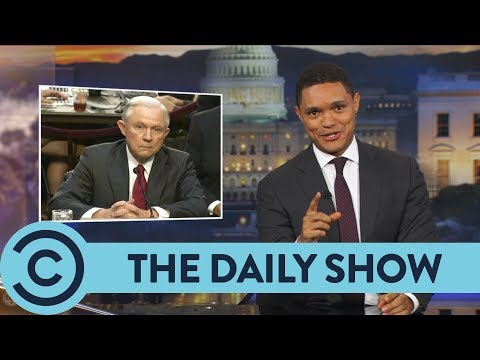 Jeff Sessions Is A Tricksy Hobbit - The Daily Show | Comedy Central