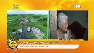 Vecinos del Bañado Sur abandonan sus casas