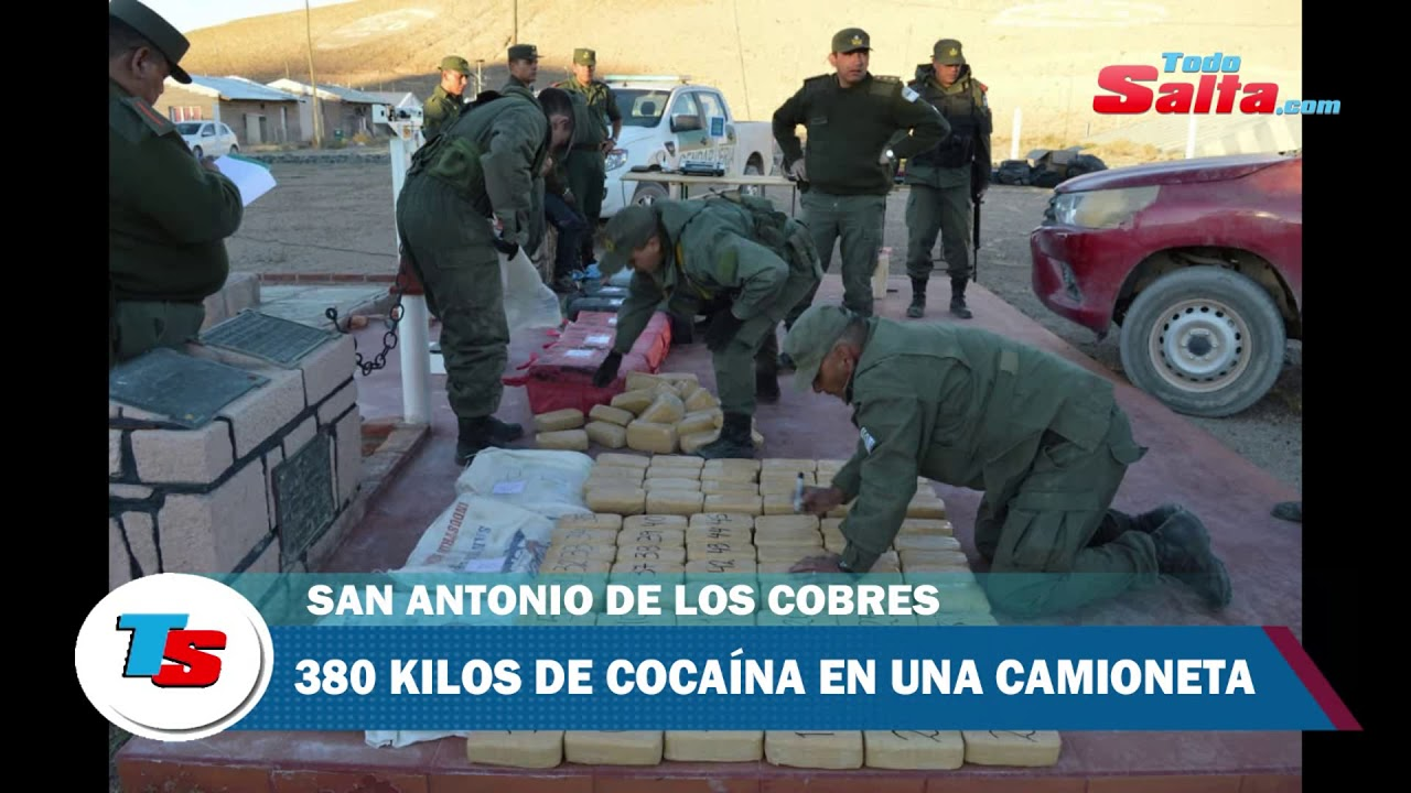 cocaina en San Antonio de los Cobres
