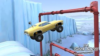 MMX HILL CLIMB: Snow Mayhem 1 - Racing on Muscle - Truck and Car racing game
