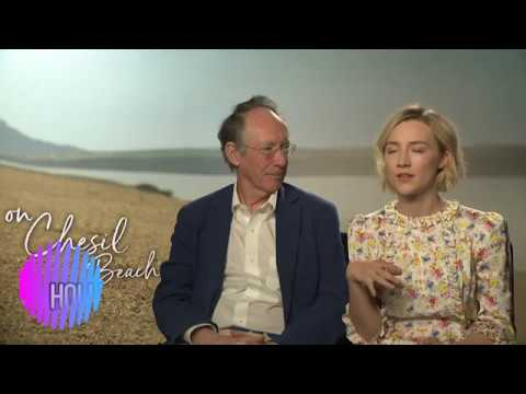 Saoirse Ronan On Chesil Beach Interview Along With Author Ian McEwan