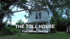 Toll House at Fort Gaines, Georgia