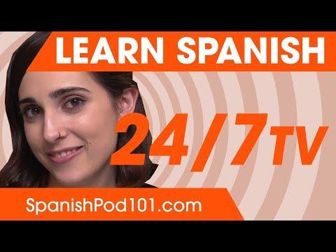 Learn Spanish 24/7 with SpanishPod101 TV