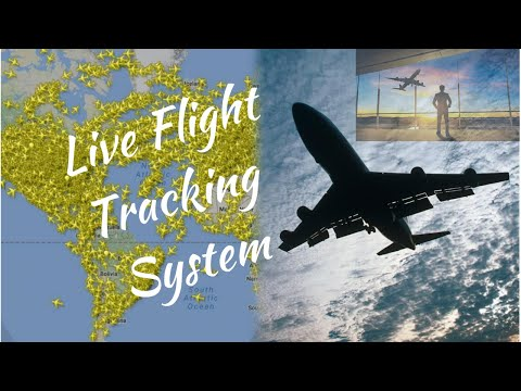 HOW TO TRACK FLIGHTS IN LIVE ||LIVE FLIGHT TRACKING SYSTEM