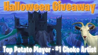 Talking Goat Plays Fortnite - Halloween Giveaway - Family Friendly (Xbox One)