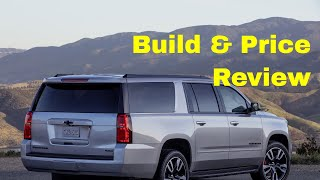 2019 Chevrolet Suburban 4WD LT - Build & Price Review - Interior, Capacities,  Specs