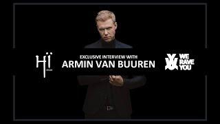 Exclusive Interview: Armin van Buuren at Hï Ibiza