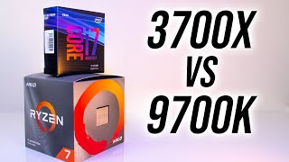 AMD Ryzen 7 3700X vs  ntel i7 9700K   Which 8 Core CPU  n 2019