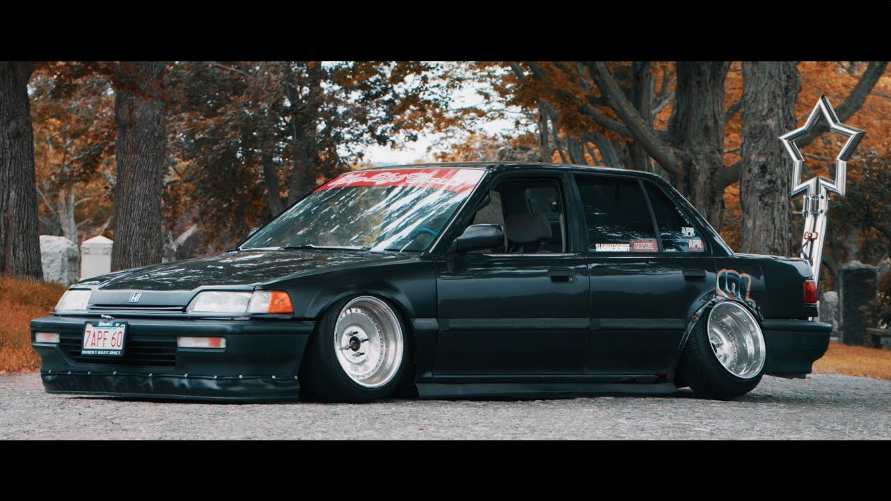Toms Slammed Ef Sedan Divine 4k Youtube