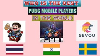 Who is the best PUBG MOBILE player in the world  ? | RRQ  D2E vs Scout vs Sevou | 1vs4 clutch |