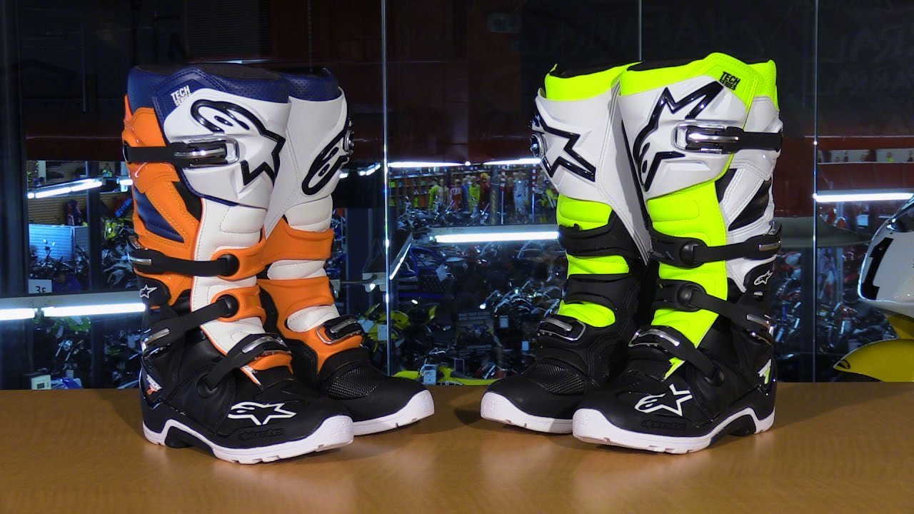 11 Black//Grey//Red Alpinestars Mens Tech 7 Enduro Motocross Boot