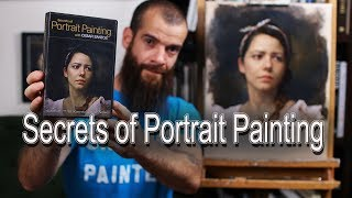 Secrets of Portrait Painting. Cesar Santos vlog 025