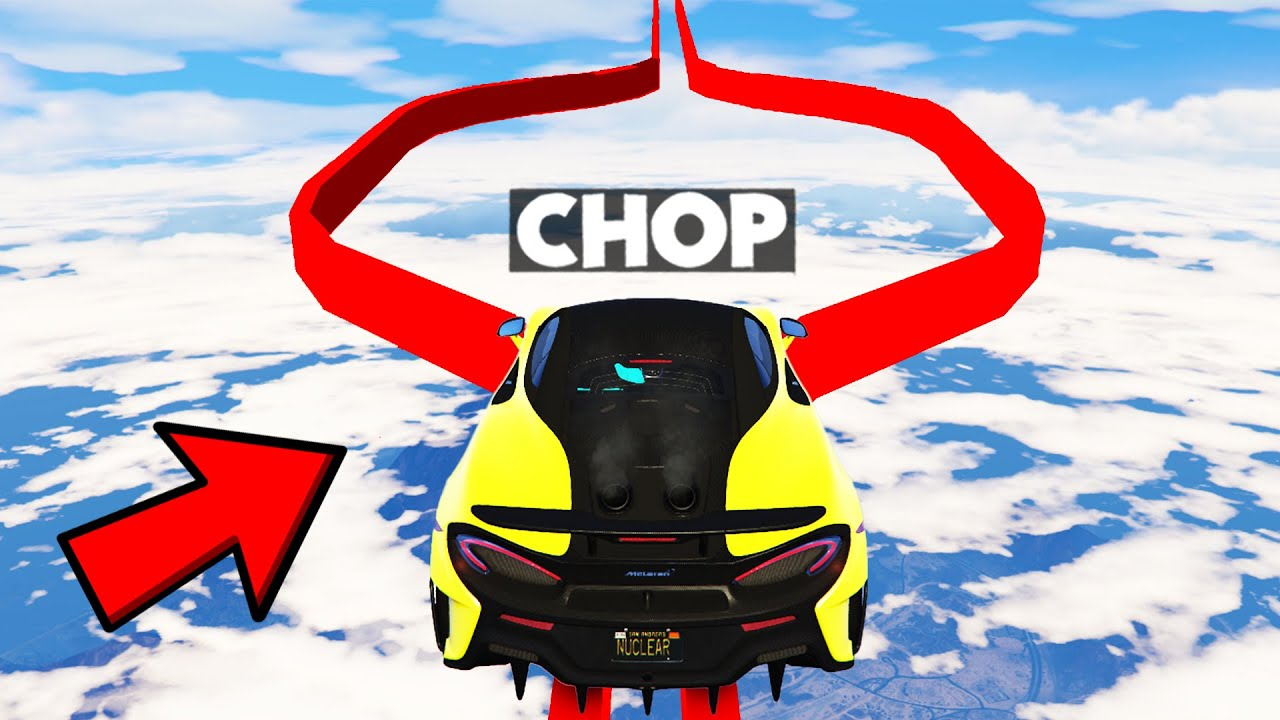 CHOP CHALLENGED ME TO DO THE HARDEST PARKOUR RACE OF GTA 5! (99.99% IMPOSSIBLE)