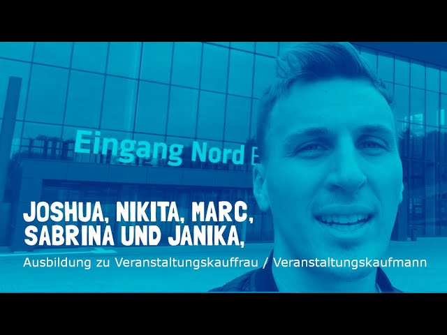 Ausbildung zur Veranstaltungskauffrau / zum Veranstaltungskaufmann bei den Westfalenhallen Dortmund