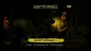 The Walking Dead: A Telltale Games Series - Season 2 - Episode 1: All That Remains Walkthrough