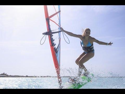 Sarah-Quita Offringa , Kevin Pritchard and Starboard Team on Ho'okipa, Maui Hawaii
