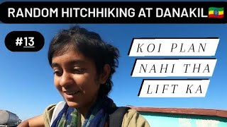 I Hitchhike At Hottest Place On Earth 🇪🇹 | Danakil Desert