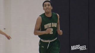 5-Star Georgetown Commit Tremont Waters Has SERIOUS GAME! Notre Dame Vs Amity