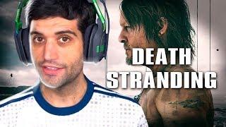 Death Stranding PRIMEIRO gameplay, o jogo mais CONFUSO de todos os TEMPOS?