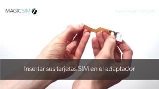 Samsung Galaxy S7 / S7 EDGE - Adaptador Dual SIM - MAGICSIM ELITE - GALAXY S7