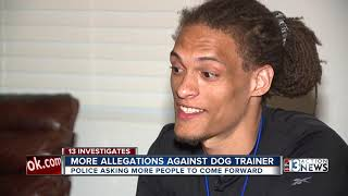 NLV police asking for reports in dog trainer investigation
