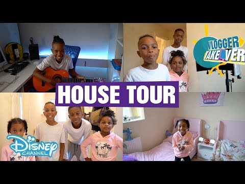 Vlogger Takeover | HOUSE TOUR - Tekkerz Kid | Disney Channel UK
