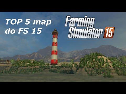 Top 5 map do Farming Simulator 15