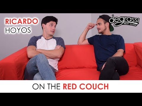 On the Red Couch: Ricardo Hoyos - Degrassi: Next Class